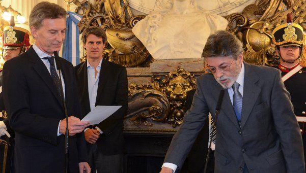 Macri les tomó juramento a los jefes de la AFIP y la Sedronar