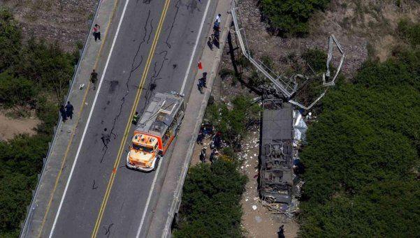 El accidente de Salta es el tercero más grande de la historia argentina