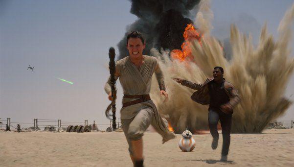 Dos meses después del estreno, empezaron a filmar la nueva Star Wars