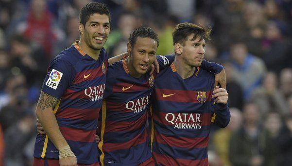 Messi-Suárez-Neymar: ¿el mejor tridente de la historia gracias al asado?