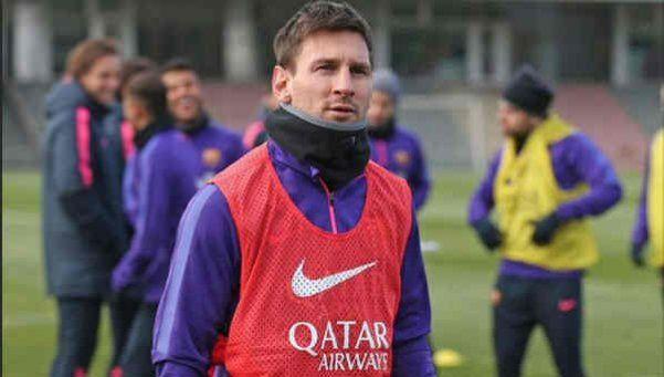 Por un cólico renal, Messi no jugó ante el Guangzhou Evergrande