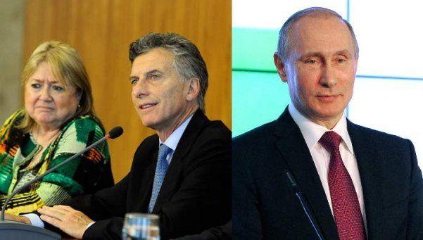 Macri y Malcorra hablaron de inversiones con Putin