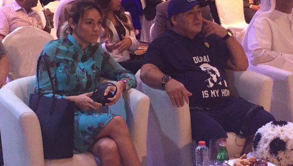 Diego Maradona llamó a Moria para darle fuerzas