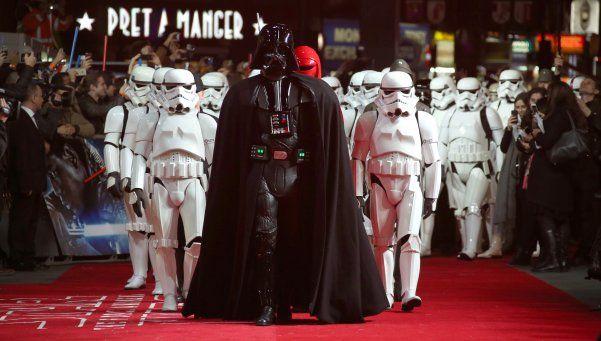 Nuevo film de Star Wars batió record de taquilla en su estreno