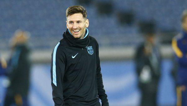 La presencia de Messi ahora  camina sobre las piedras
