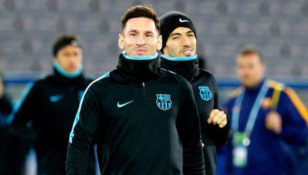 La Pulga sonríe: Messi se entrenó y podría jugar ante River