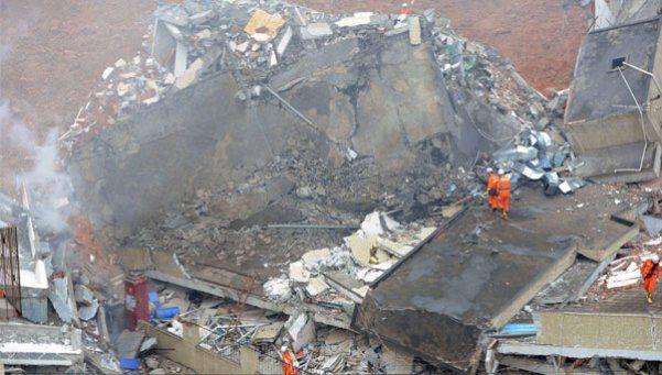 Alud en China: 59 desaparecidos