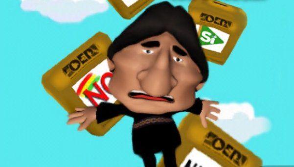 Furor por original juego de Evo Morales para iOS y Android