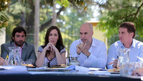 Larreta y Vidal, en reunión inaugural del Gabinete Metropolitano