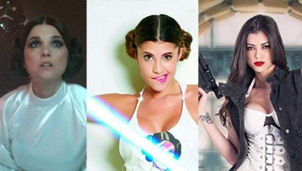 Flor Zaccanti, Araceli y las fanáticas más sexys de Star Wars