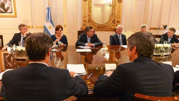 Macri encabezó la primera reunión de Gabinete