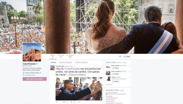 Tras la polémica, Casa Rosada tiene cuenta oficial de Twitter