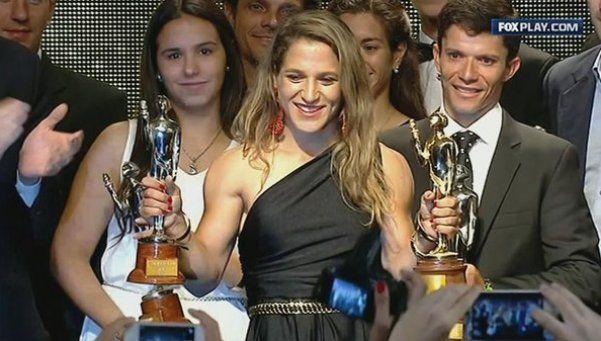La Peque Paula Pareto, ganadora del Olimpia de Oro