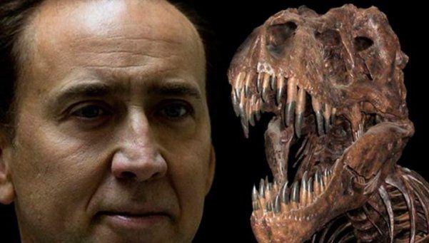 Nicolas Cage devolvió un fósil de dinosaurio robado en Mongolia