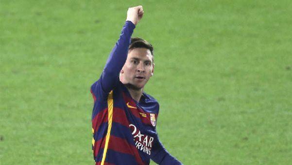 Messi fue elegido el quinto mejor deportista del año