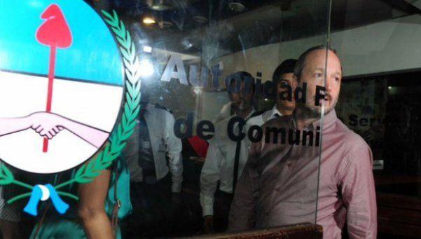 Sabbatella, al dejar el edificio de la AFSCA: Es un delirio lo que están haciendo