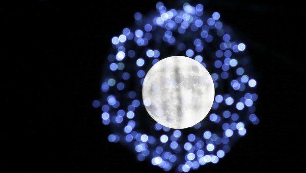 Luna llena en Navidad, un fenómeno que no se repetirá hasta 2034
