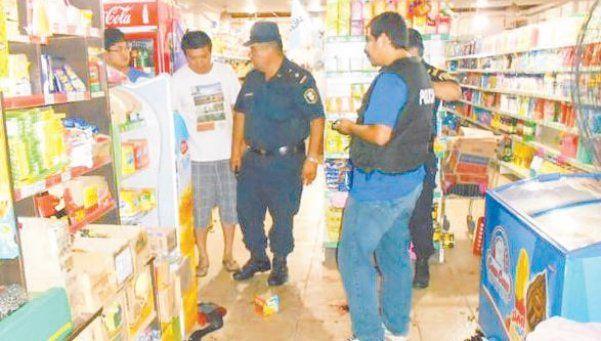 Violentos intentos de saqueos en dos supermercados