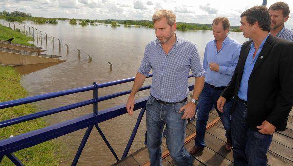El Gobierno armó un comité de crisis por las inundaciones en el Litoral
