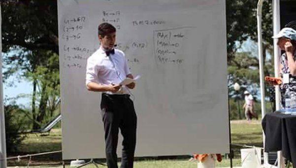 Lisandro Filloy, un orgullo matemático para Quilmes