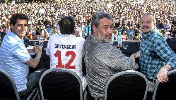 Miles de kirchneristas acompañaron a 678 en Parque Saavedra