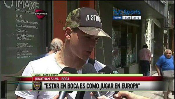 Silva, nuevo refuerzo de Boca: Jugar con Tevez es un sueño