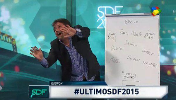 CarusoShow: explicó cómo jugarle al Barça y confundió a Busquets