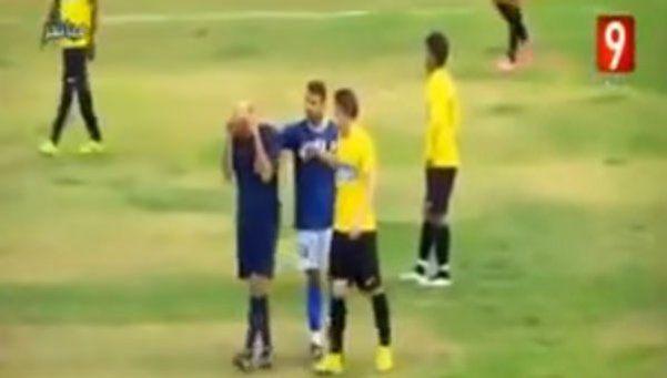 Un árbitro se puso a llorar por los insultos de los hinchas