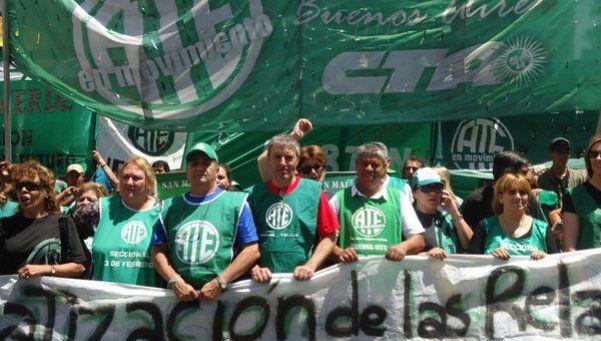 La CTA de Micheli protesta hoy en el país