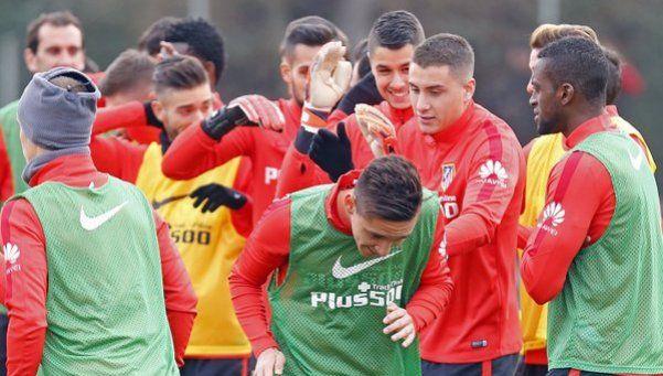 Kranevitter entrenó en el Atlético Madrid y Simeone lo elogió