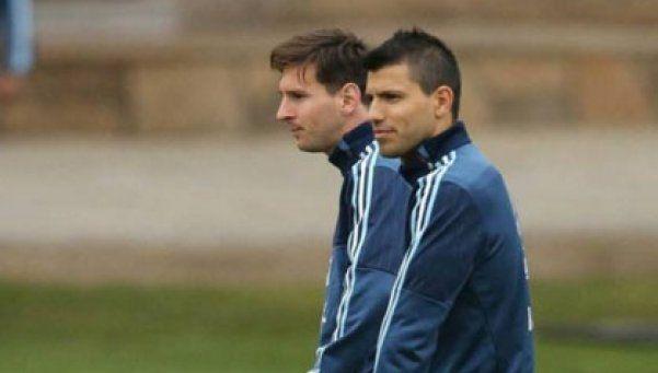 Agüero: Que Messi venga a Independiente para retirarse