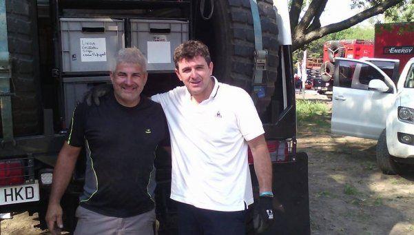 Pose Romero, el estandarte de la región en el Dakar 2016
