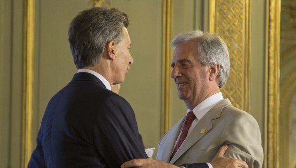 Macri visitará a Tabaré Vázquez en Uruguay