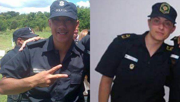 Estos son los dos policías baleados por los prófugos de Alvear