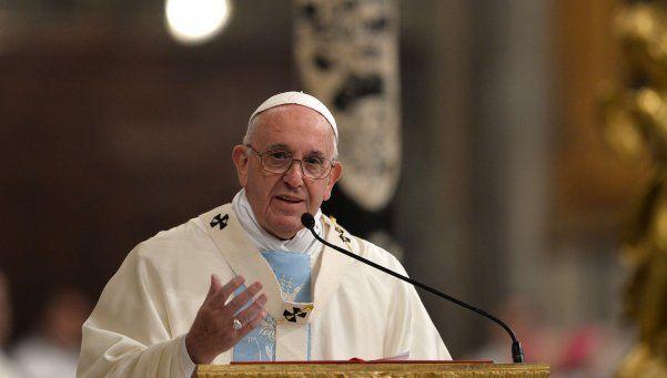 El Papa Francisco deseó al mundo un año de paz