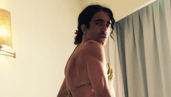 Posca recibió el año en bikini y con vértigo en la cola