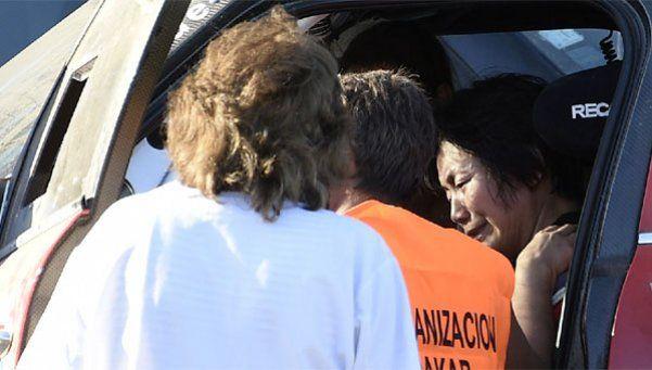 Accidente en el Dakar: 13 espectadores heridos