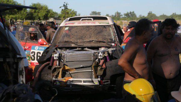 Dakar: uno de los heridos continúa en estado crítico