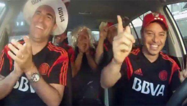 Gallardo y los jugadores de River bailaron al ritmo de Los Totora