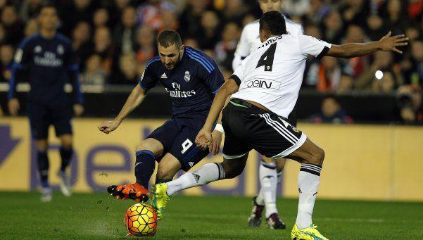 Real Madrid igualó con Valencia y Benítez está en la cuerda floja