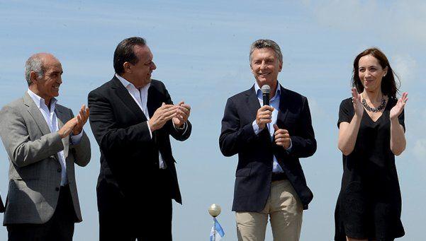 Macri encabezó un acto en Mar del Plata junto con Vidal
