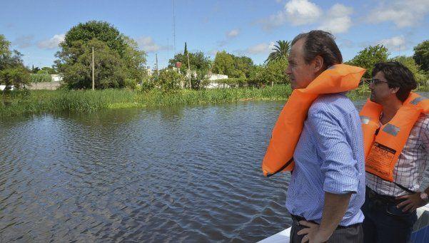 Macri prometió construir 600 viviendas para las zonas inundadas