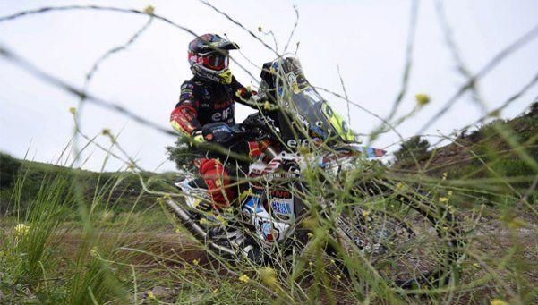 En motos, Benavídez llegó segundo, pero ganó por sanción al líder