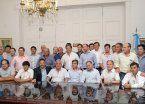 Intendentes peronistas piden avanzar en la aprobación del presupuesto