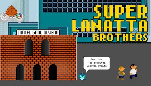 Super Lanatta Bros, el juego de la fuga que es furor en la web
