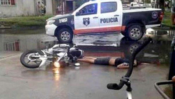 Policía mató a adolescente  de un balazo por la espalda