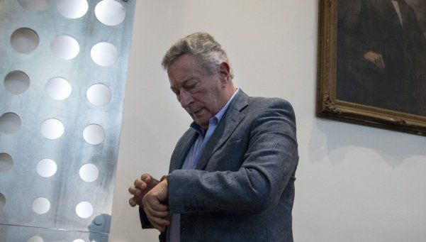 """Segura, Moyano, Angelici y Lammens, en la Casa Rosada por el """"FPT"""""""