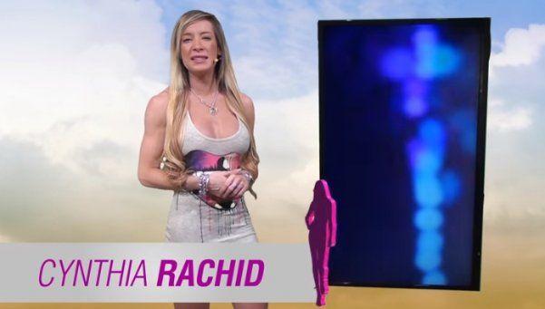 Levanta la temperatura: Cynthia Rachid, la meteoróloga hot