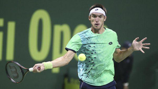 No hubo hazaña: digna derrota de Mayer ante Djokovic