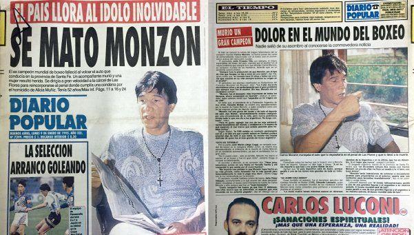 Homenaje retro: a 21 años de la muerte de Carlos Monzón